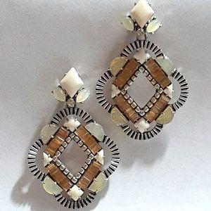 Stella & Dot statement earrings